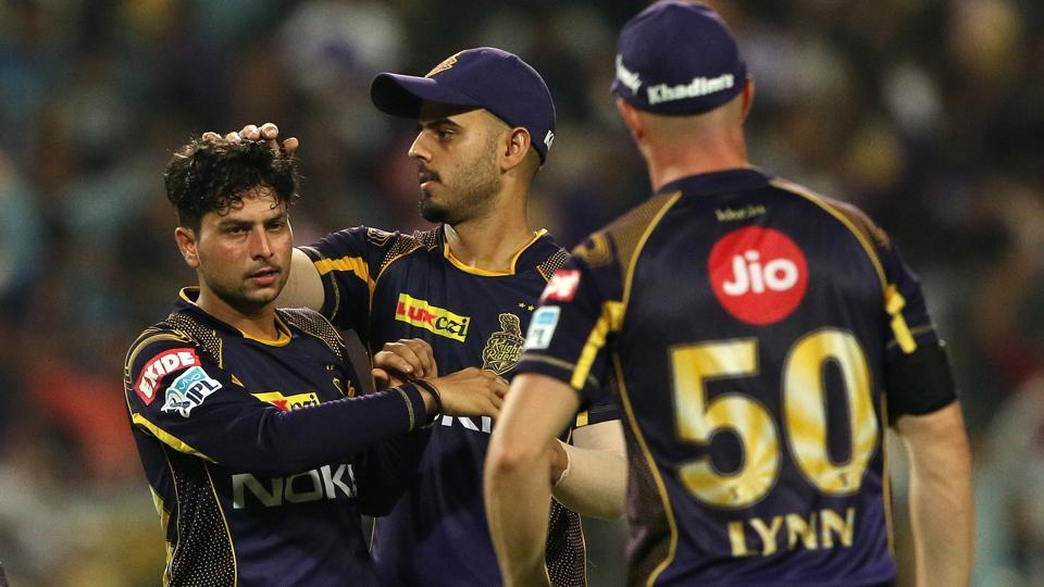 Kolkata Knight Riders defeated Rajasthan Royals in the IPL2018 Eliminator at Eden Gardens in Kolkata on Wednesday. (BCCI)