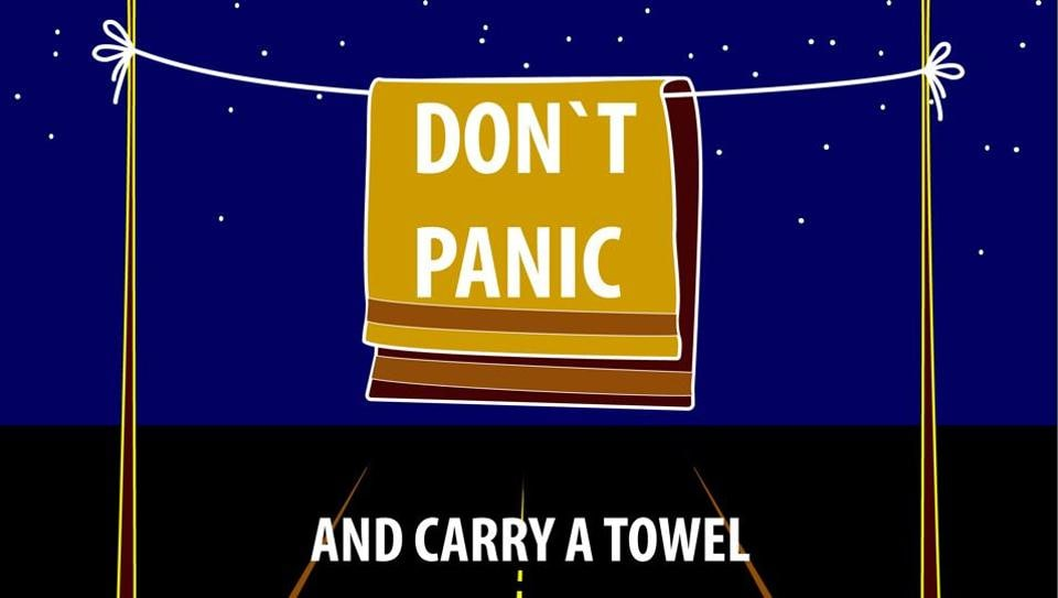 May 25 is celebrated as Towel Day.