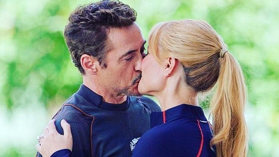 avengers infinity war s tony stark pepper potts scene has another