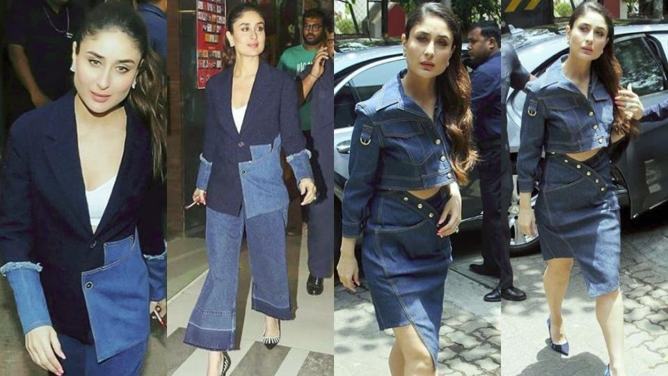 Kareena Kapoor Khan's latest head-to-toe denim looks will blow your mind and stick with you for days. (Instagram)