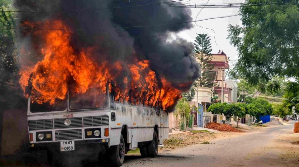 Eleven people were killed in police firing in Tuticorin as violent protests broke out against the Sterlite copper smelting plant.