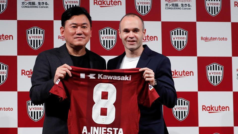 Andres Iniesta,Vissel Kobe,J-league