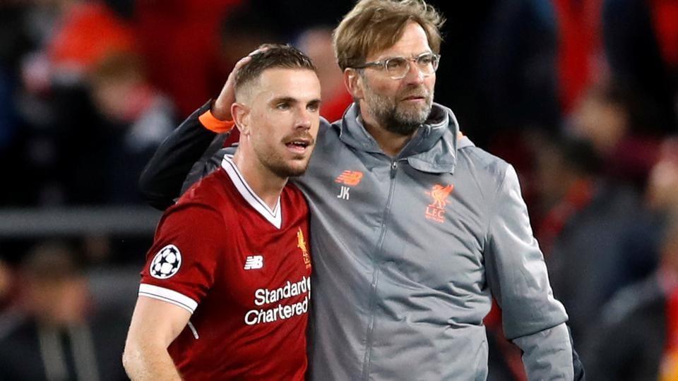 Jordan Henderson praised Jurgen Klopp for motivating Liverpool en route to the UEFAChampions League final.