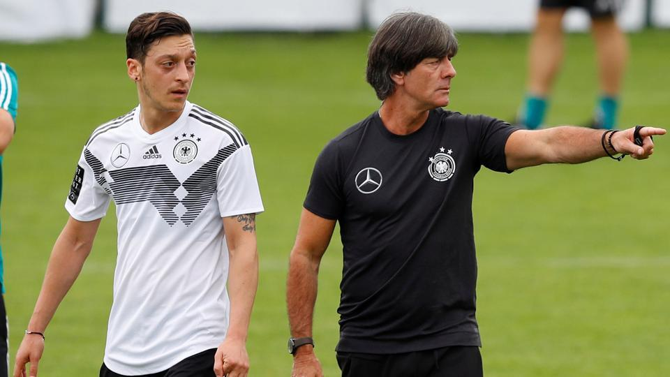 Mesut Ozil will be a key player for the Joachim Loew-coached Germany in the 2018 FIFA World Cup.