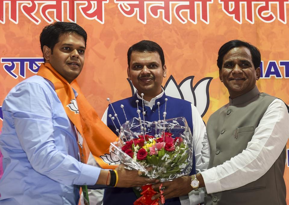 Bhartiya Janata Party,Niranjan Davkhare,Niranjan Davkhare NCP