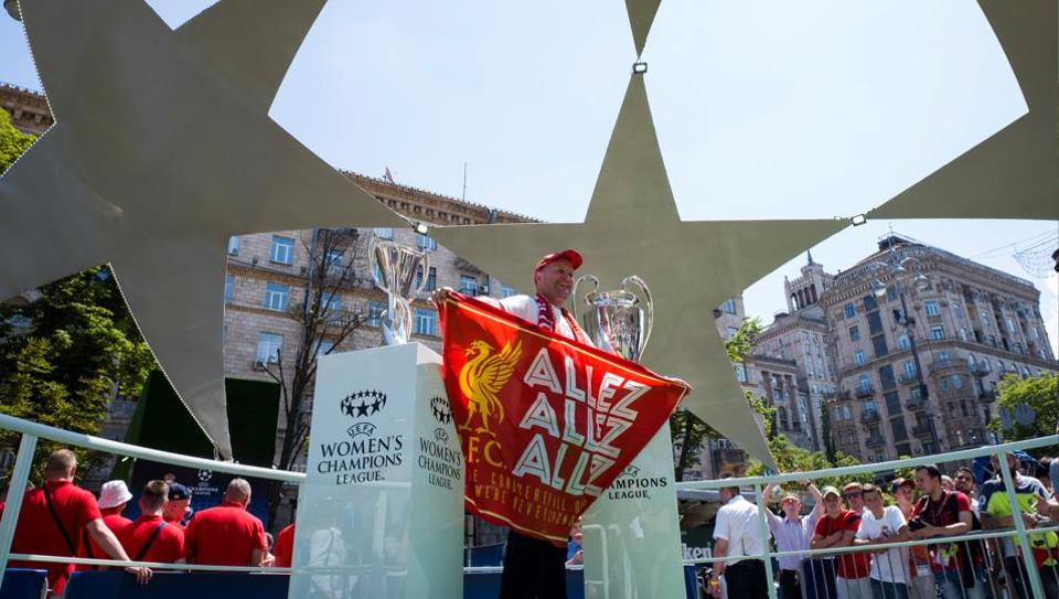 The UEFAChampions League final between Liverpool and Real Madrid in Kiev might be a target for cyber attackers, according to media reports in England. Image for representative purposes only.