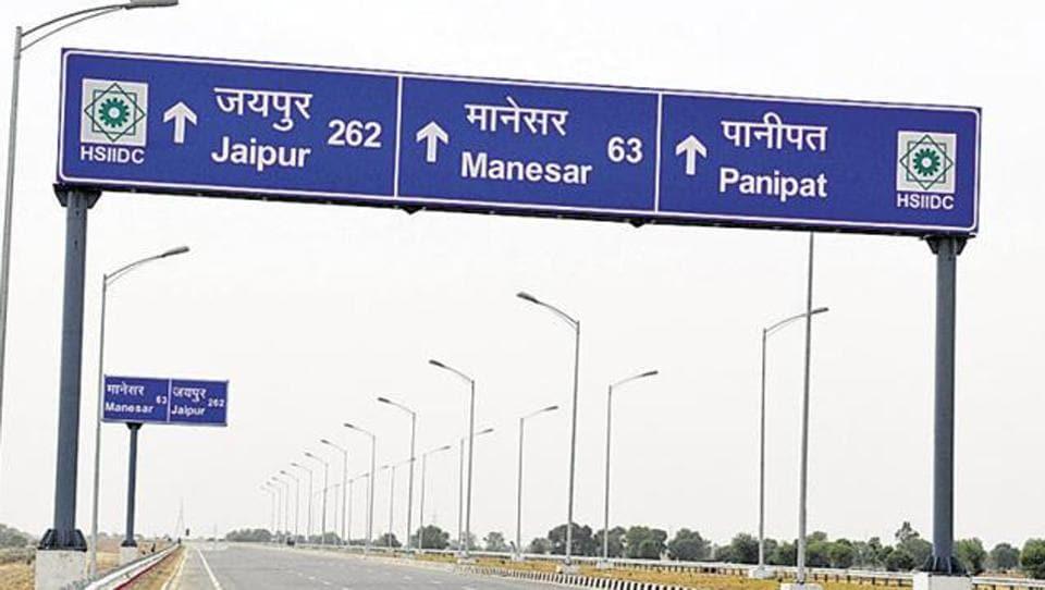 KMP e-way,Kundli-Manesar-Palwal,KMP Expressway