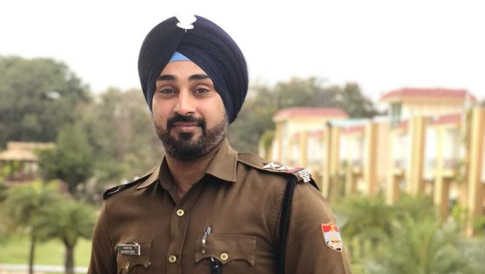 Gagandeep Singh, sub-inspector at Ramnagar police station in Uttarakhand.