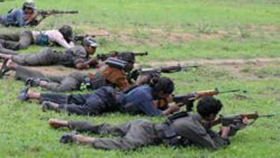 A file photo of a Maoist training camp in Bijapur district of Chhattisgarh.