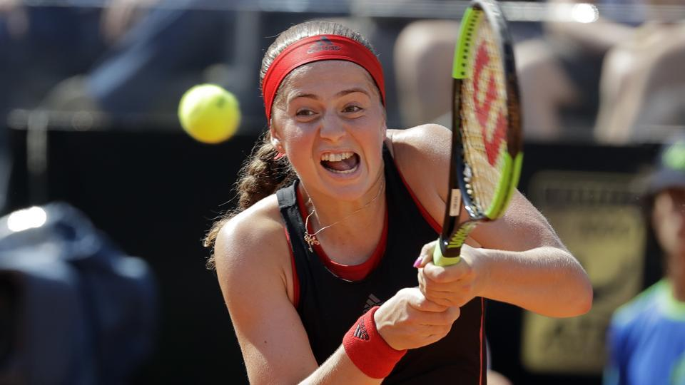 Jelena Ostapenko will be looking to defend his title