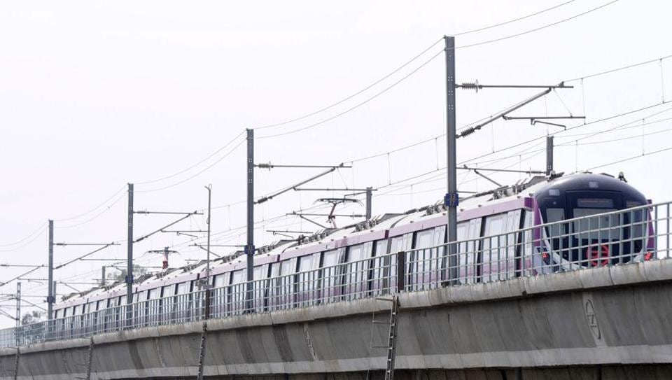 The deepest station and the steepest escalator, just a few of additions the upcoming Janakpuri West-Kalkaji Mandir stretch of the Magenta Line brings to the Delhi Metro network. This section is set to be inaugurated by Union Minister for Housing and Urban Affairs Hardeep Singh Puri and Delhi chief minister Arvind Kejriwal on Monday and will be thrown open for public the next day. (Sunil Ghosh / HT Photo)