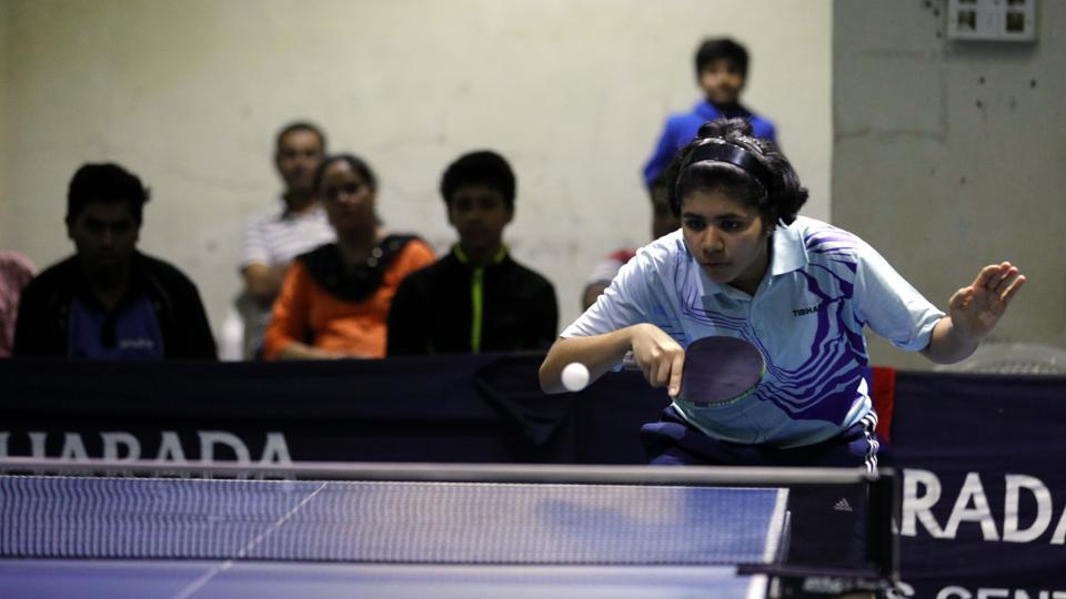 Pune,First district ranking table tennis,Aneeha D'souza