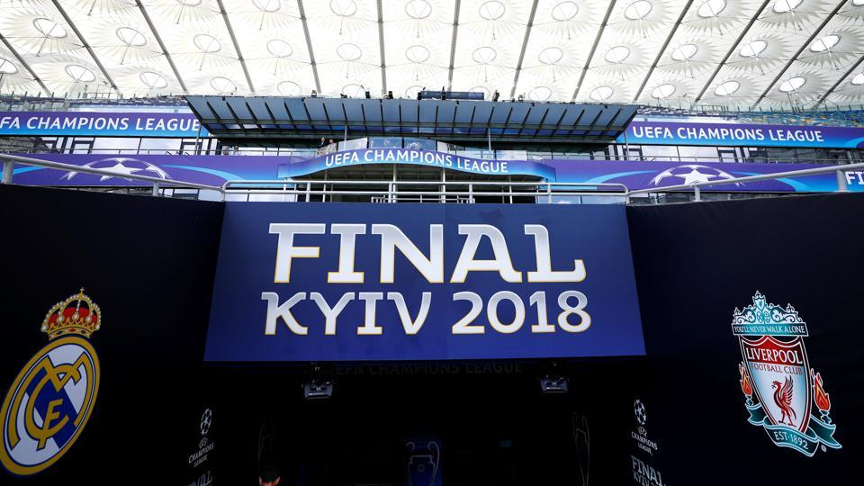 Image result for kiev final real madrid liverpool