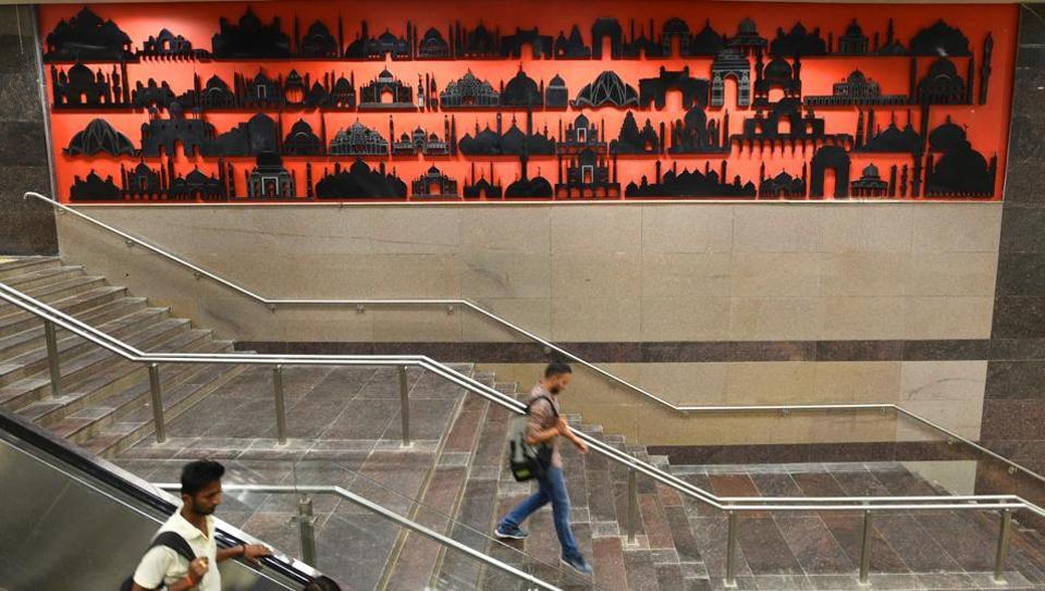 Delhi Metro,Magenta Line,Botanical Garden
