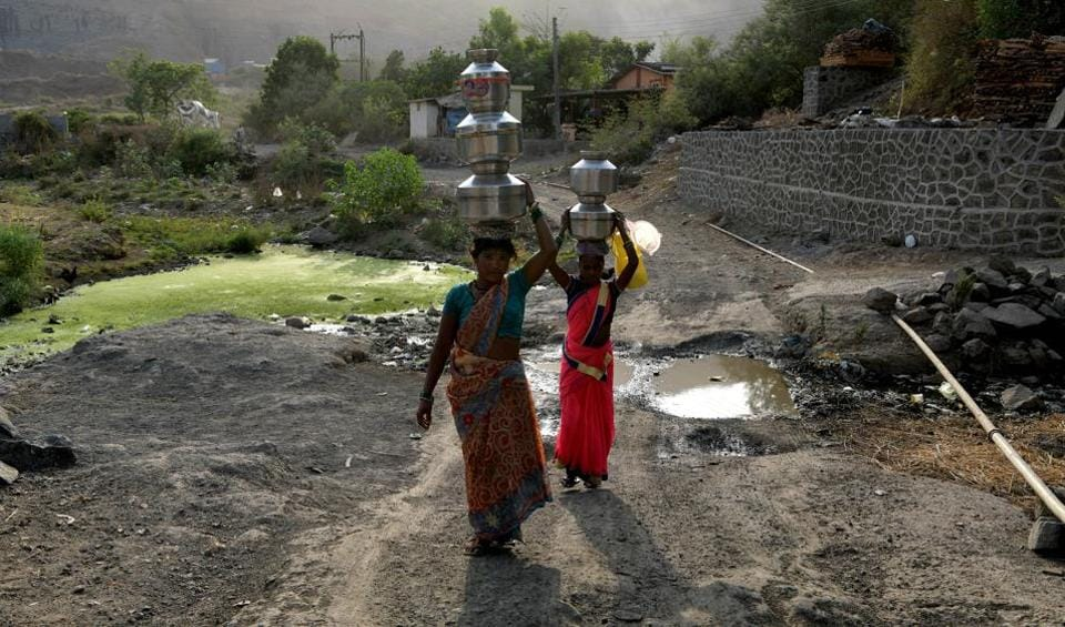 Navi Mumbai villagers seek proper water supply, good roads