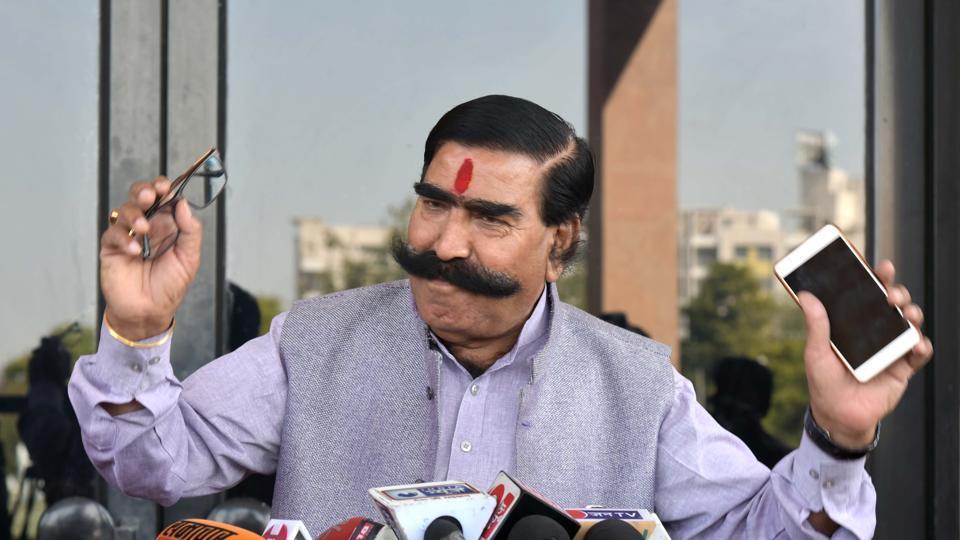 BJP MLA Gyan Dev Ahuja said that the Hindu god Hanuman was the world's first tribal leader.