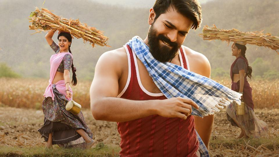 Ram Charan played the lead role in Rangasthalam.