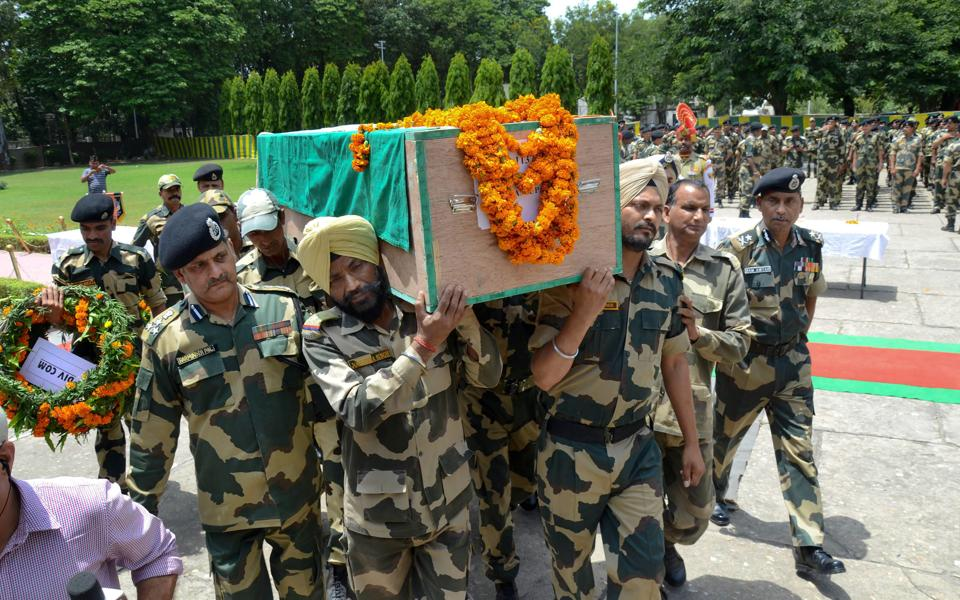 Jammu and Kashmir,Ceasefire violations,BSF