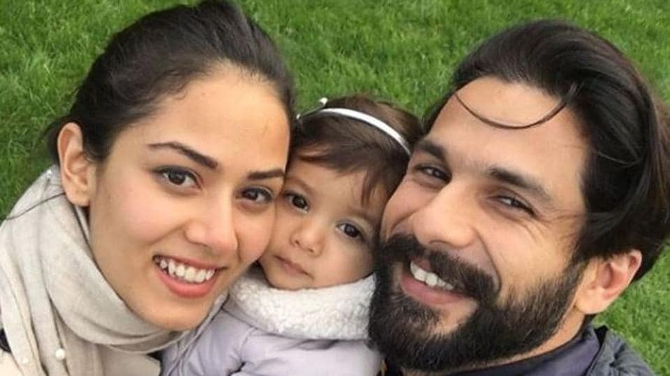 Shahid Kapoor and Mira Rajput often share pictures of their young daughter, Misha.