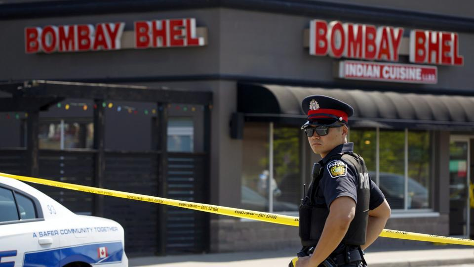 Indian restaurant,Canada explosion,Bombay Bhel restaurant