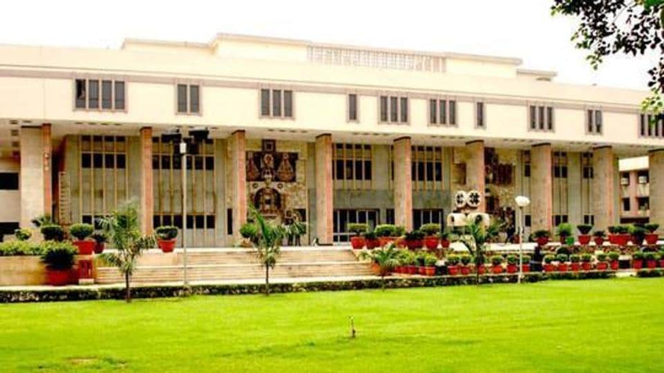 A view of the Delhi high court.