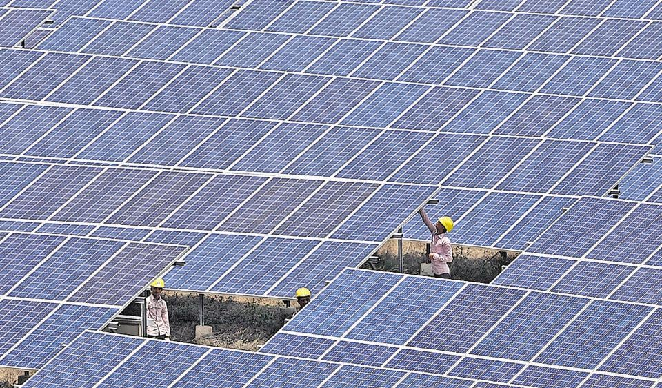 In Diu, large swathes of government land have been used to build solar parks. India is building 38 parks across 23 states to meet an ambitious target of generating 100 gigawatts of solar power by 2022.