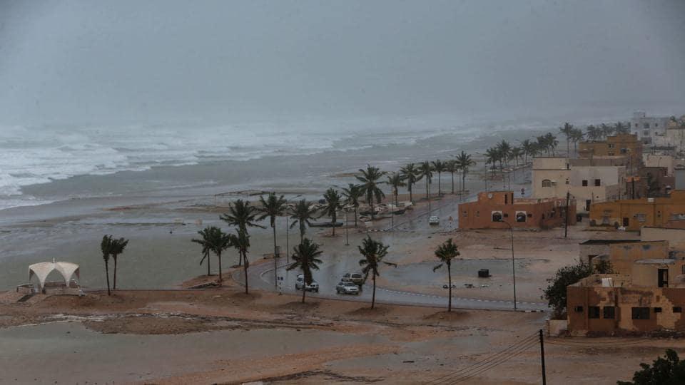 Cyclone Mekunu,Oman,Yemen