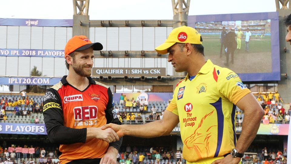 IPL 2018,IPL 2018 final,Chennai Super Kings vs Sunrisers Hyderabad