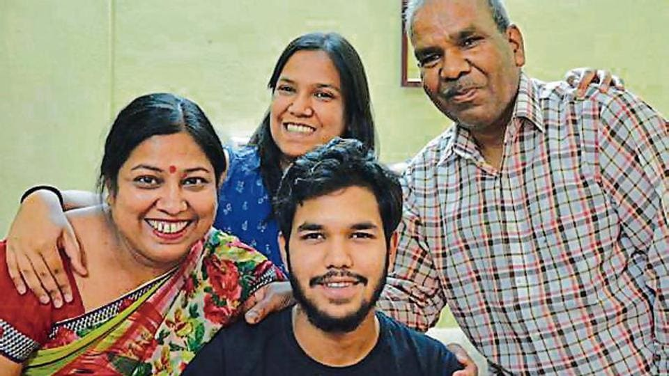 Kush Bansal, a humanities student of Saint Soldier International School, Sector 28, has topped in the tricity.
