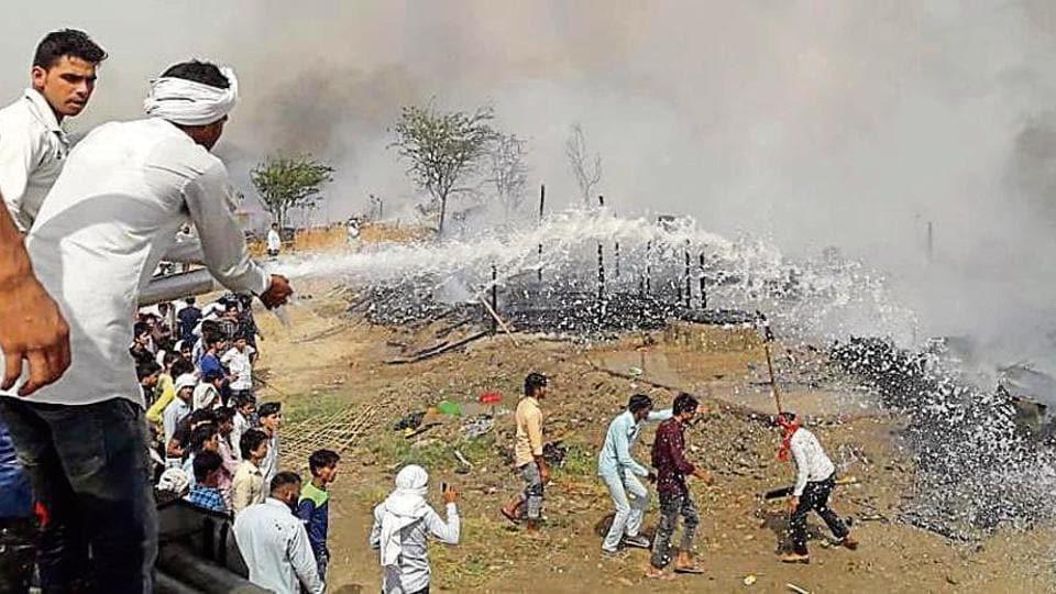 Rohingya refugee camp,Haryana,Nuh