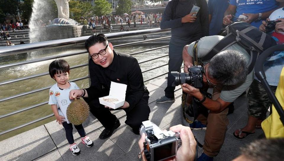 Image result for kim jong un in singapore