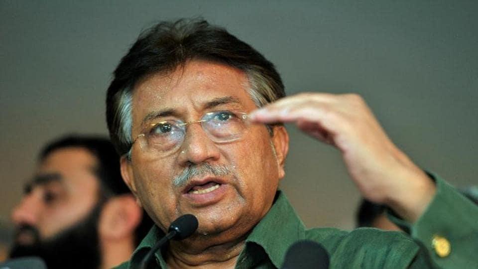 File photo of Pakistan's former president Pervez Musharraf.