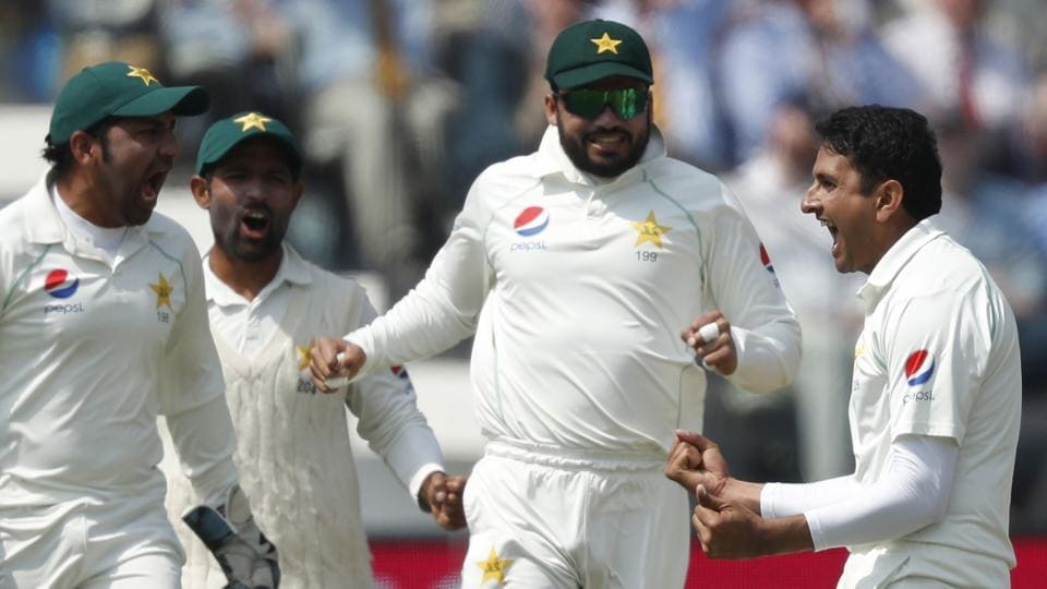 Pakistan defeated England by nine wickets in Lord's Test to go 1-0 up in the two-match series