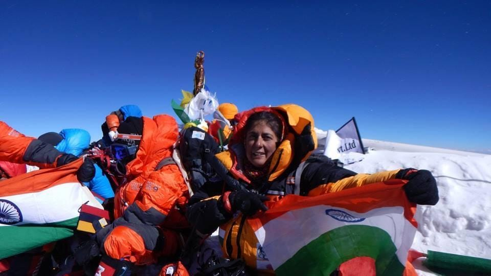Sangeeta Bahl,oldest Indian woman to scale Mt Everest,Mount Everest