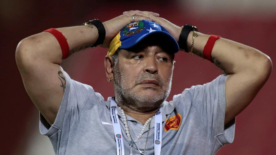 Diego Maradona was sent home during the 1994 World Cup for doping.