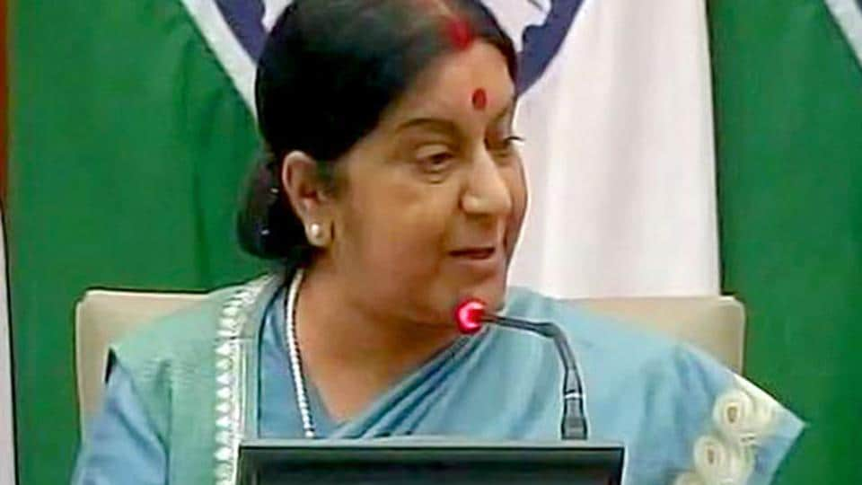 India will not follow U.S. sanctions on Iran: FM Swaraj