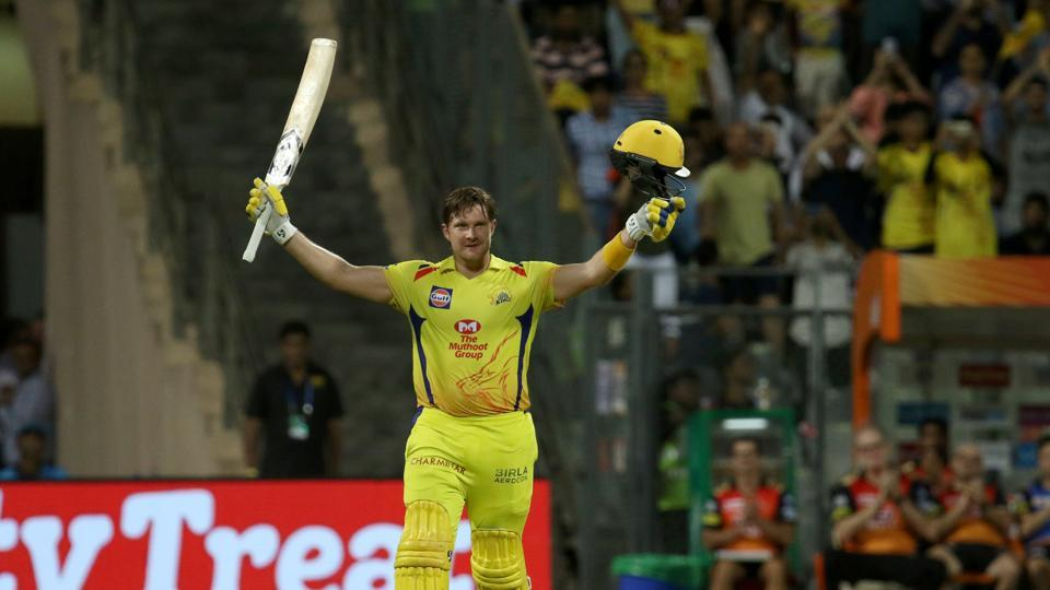Shane Watson played 117* runs knock against SRH in the final of IPL 2018. (Photo Source - IANS)