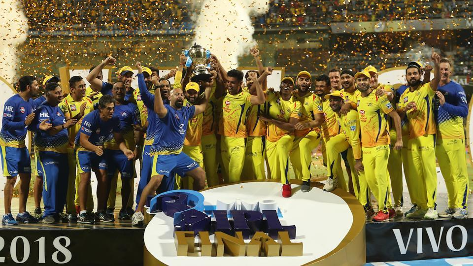Chennai Super Kings are the IPL 2018 champions after beating Sunrisers Hyderabad in the summit clash. (BCCI)