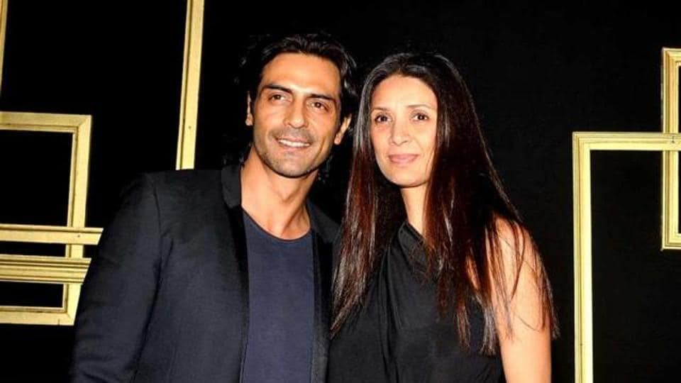 Arjun Rampal and Mehr Jesia married in 1998.