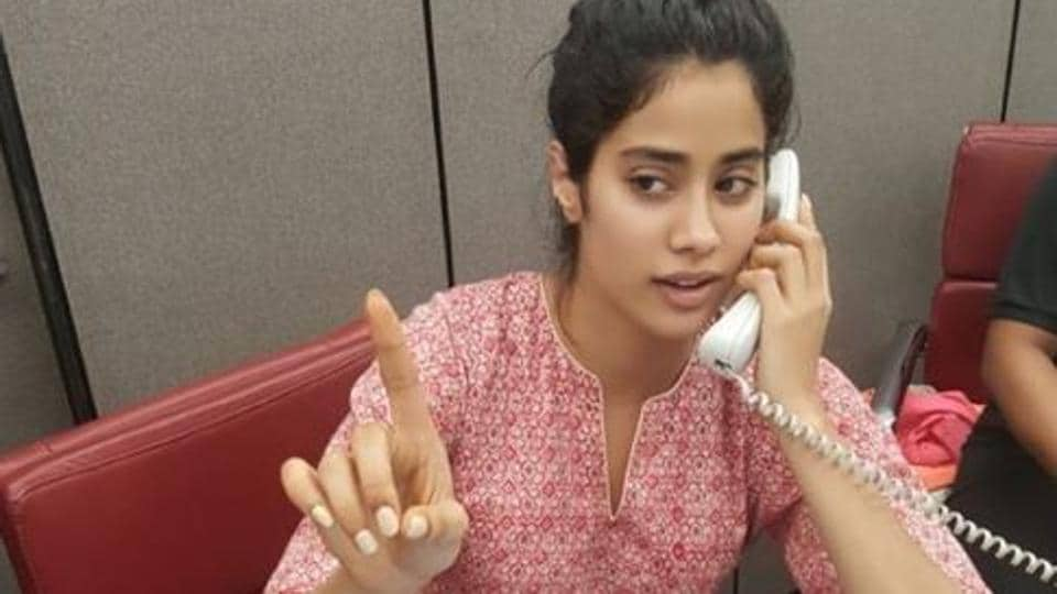 Janhvi Kapoor has a slightly different job lined up for her.