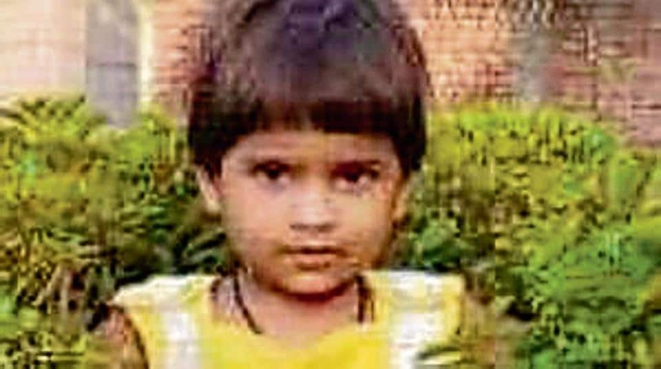 The police said the injured girl suffered multiple injuries and was declared dead when taken to a hospital.