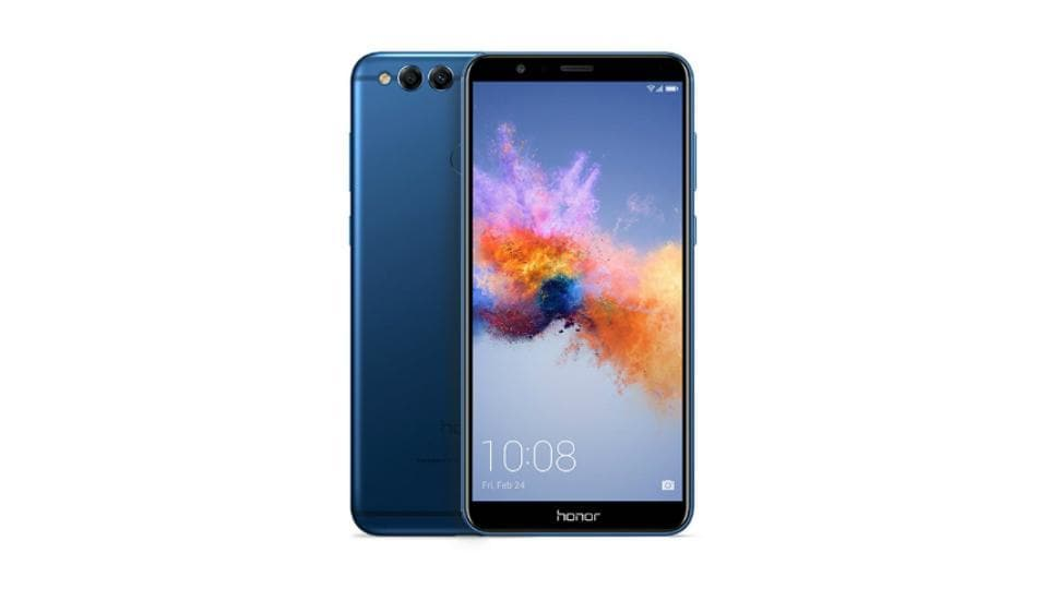 Honor 7X is available in two storage variants of 32GB and 64GB with 4GB of RAM.
