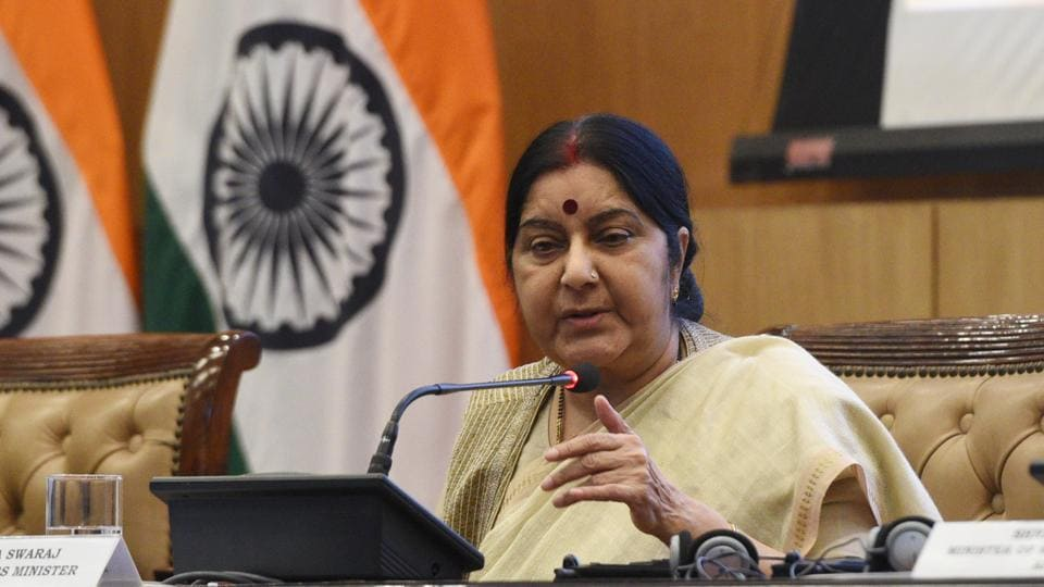 UK court,condition of Indian jail,Sushma Swaraj