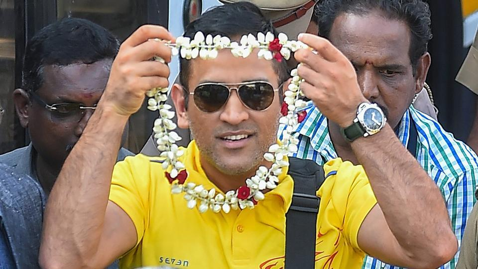 MS Dhoni-led Chennai Super Kings landed in Chennai on Monday after winning the Indian Premier League (IPL) 2018 title.