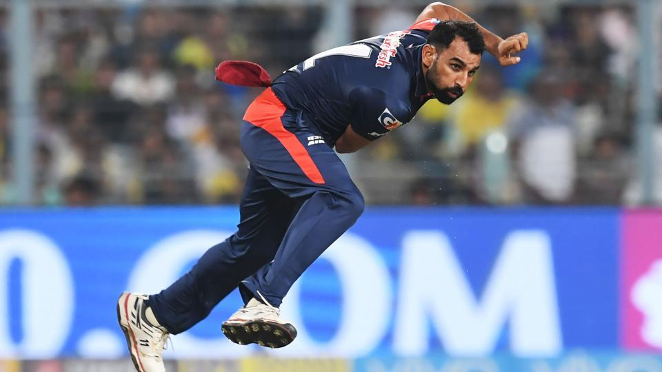 Mohammed Shami replaced Hardik Pandya in the World XIsquad that will face West Indies in the T20 fund-raiser at Lord's.