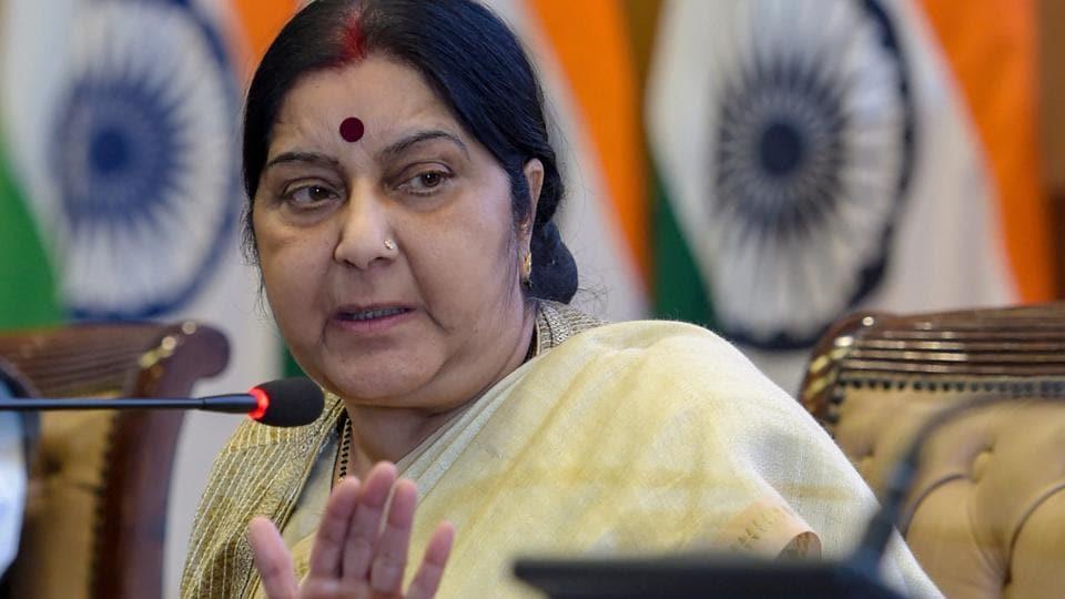 Sushma Swaraj,MEA,External affairs minister