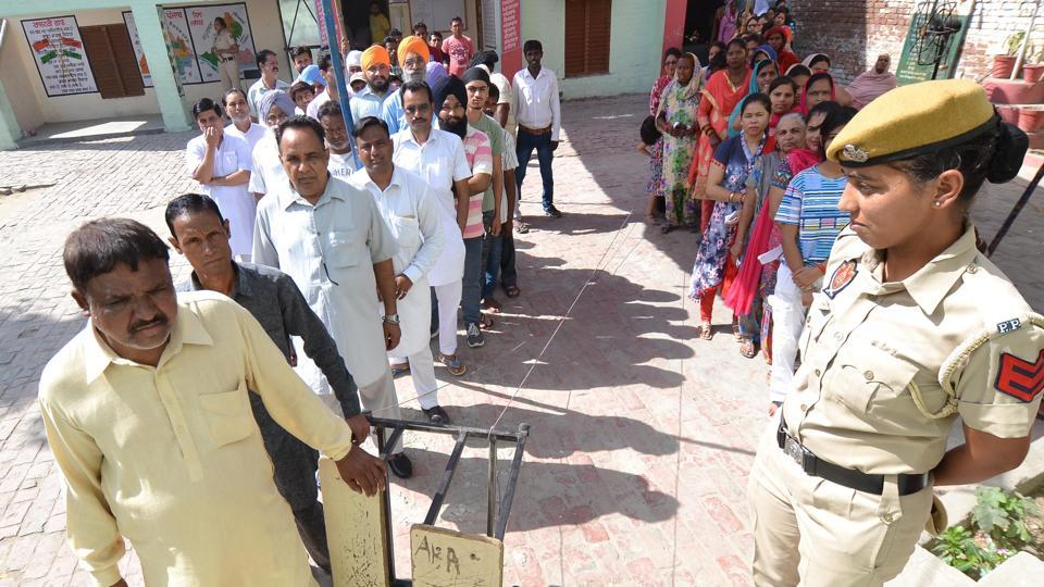 Shahkot bypoll,VVPATs replaced,Congress government