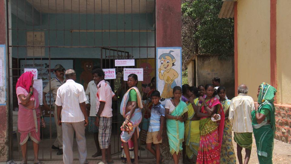 Voters' apathy,scorching heat,EVM glitches