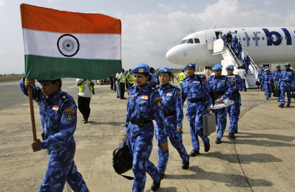 In January 2007, for the first time in UN history, the Indian first all-women UN peacekeeping police unit was deployed to Liberia, with subsequent deployments in 2008 and 2009.