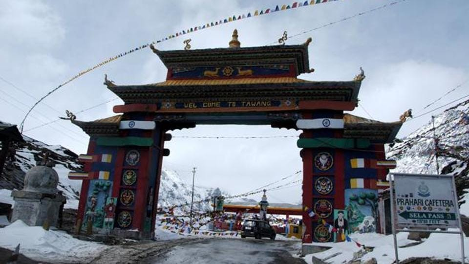 Arunachal Pradesh and Sikkim are out of bounds for foreign tourist without a special permit.